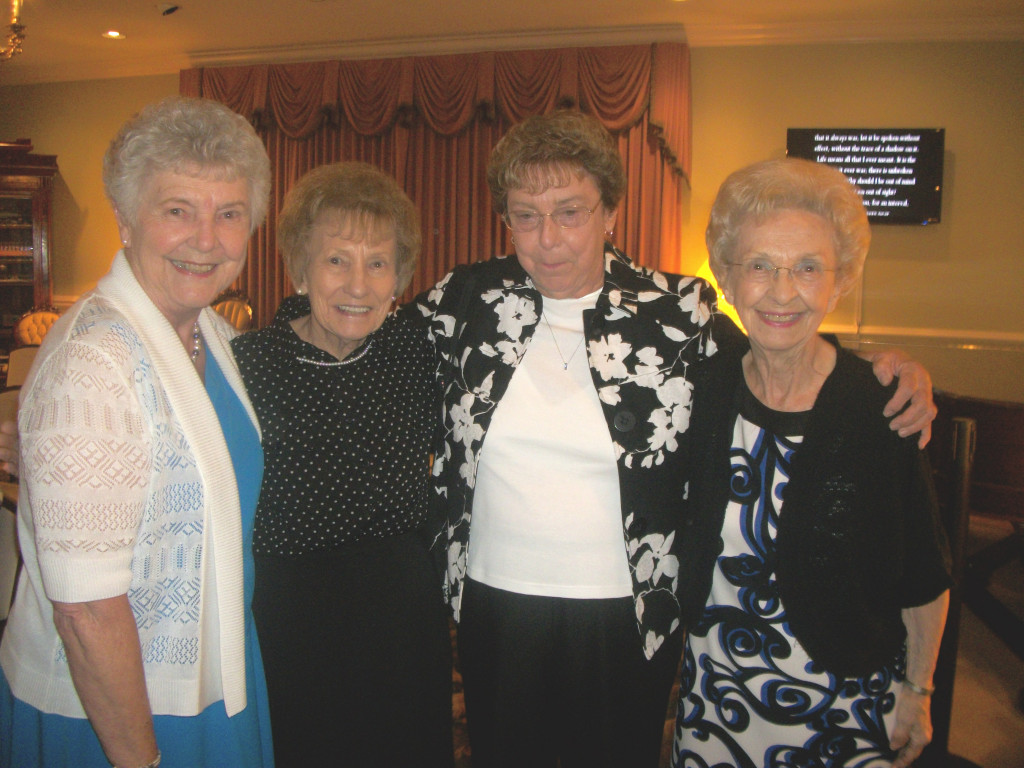 Aunt Mary, Marcelene, Aunt Butch, Cousin Joan